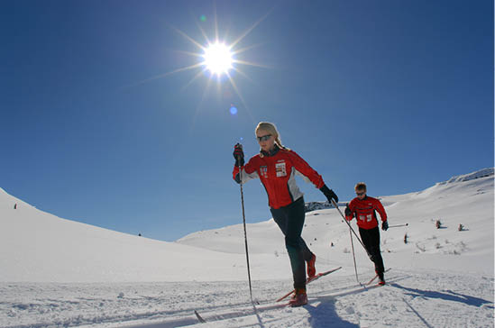 Cross Country Skiing at Kvitfjell