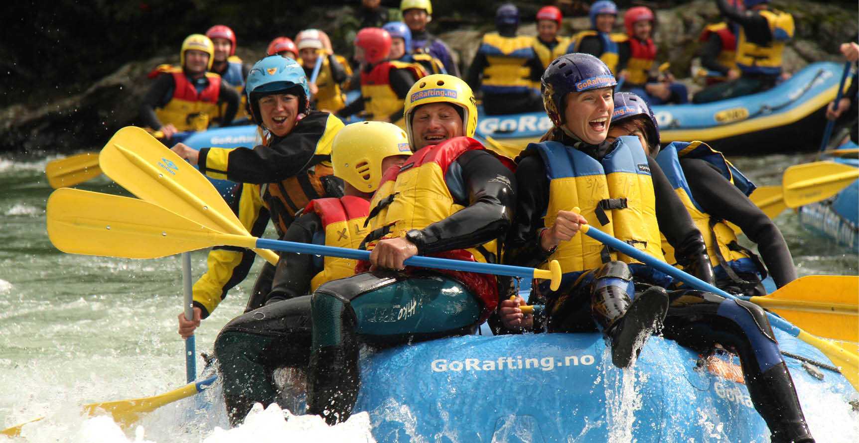 Rafting in Sjoa