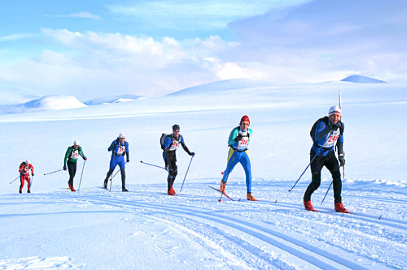 Cross Country Competition Troll Ski Marathon