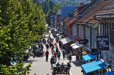 Thumbnail for Lillehammer town centre