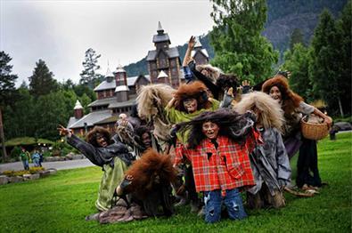 Troll i Hunderfossen Familiepark