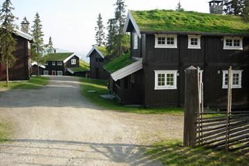Gudbrandsgard Hyttegrend, hytter