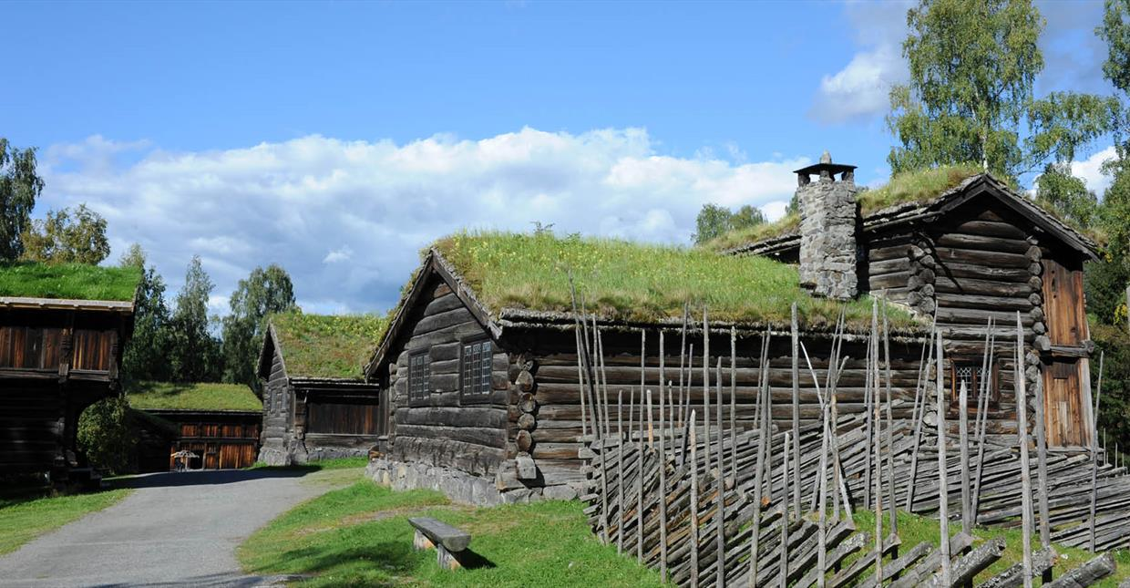 Old building at Maihaugn open air museum