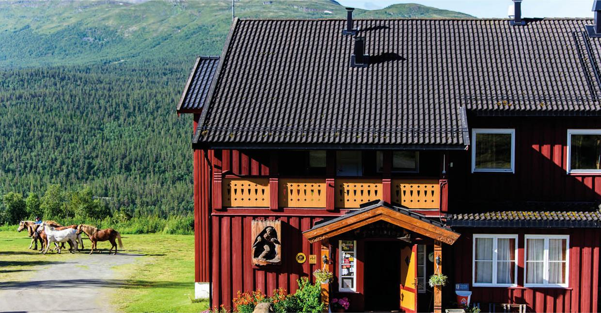 Ruten Mountain Lodge