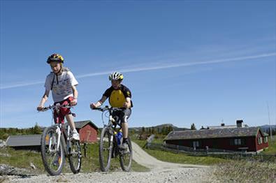 Sykkeltur på Kvitfjell