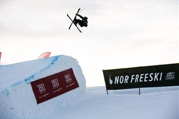 KM Freeski Big Air og Slopestyle