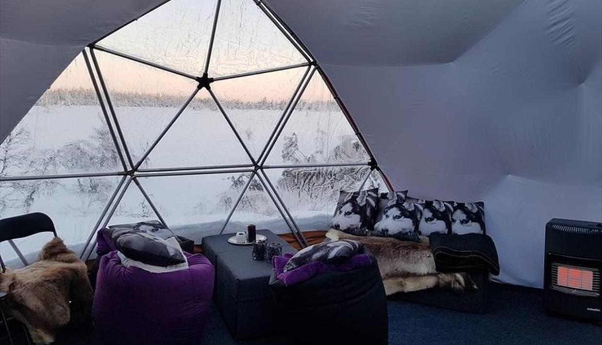 Arctic Dome | Glamping i Åstdalen